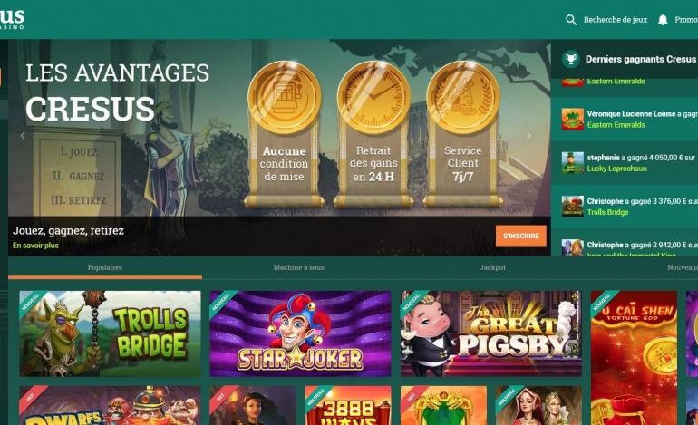 Cresus casino avis