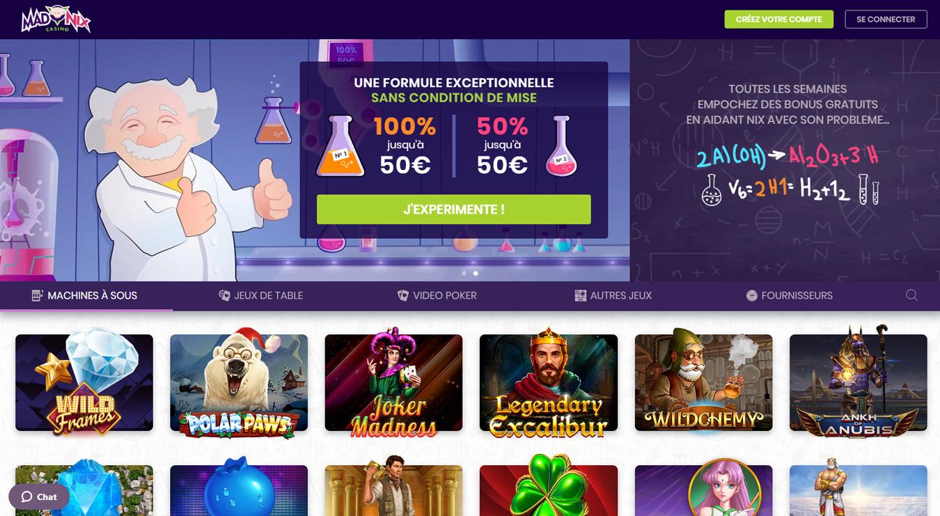madnix casino avis